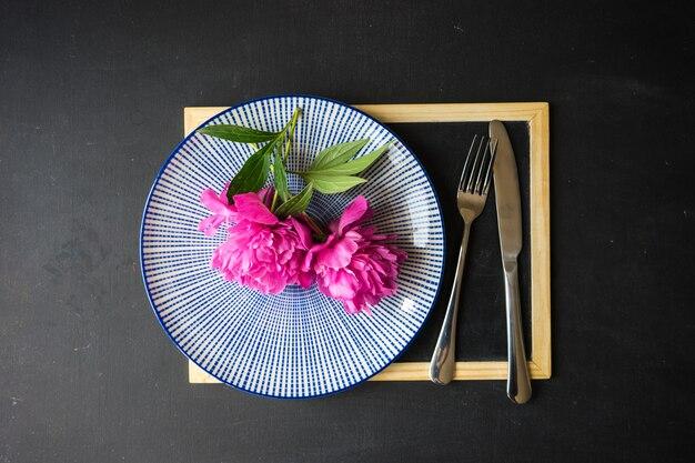 Réglage de la table d'été Photo Premium
