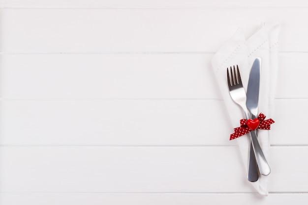 Réglage de la table romantique Photo Premium
