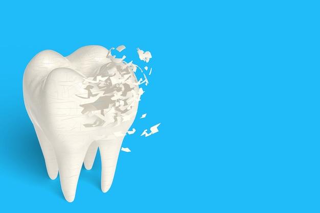Rendu 3d os poreux si ne pas avoir de lait, concept de force dérivé du lait de consommation Photo Premium