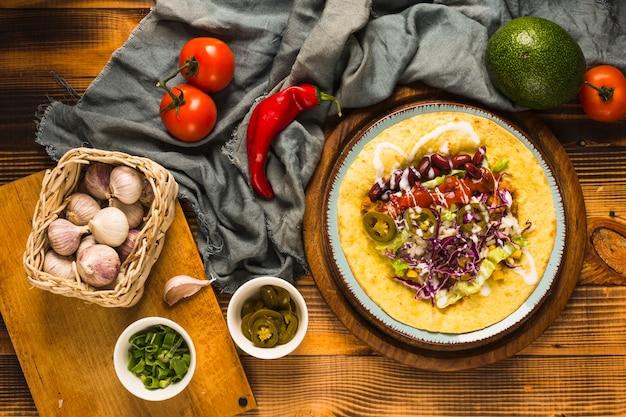 Repas mexicain Photo gratuit