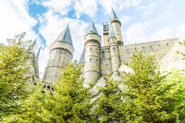 Réplique de l'école de sorcellerie de l'école de sorcellerie de poudlard Photo gratuit