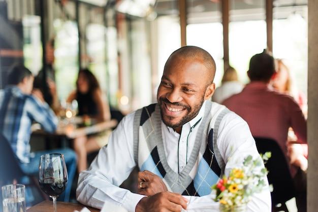 Restaurant chilling out classy lifestyle concept réservé Photo gratuit