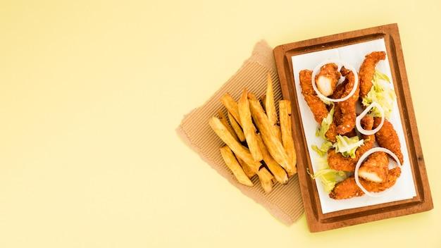 Restauration rapide prête à manger Photo gratuit