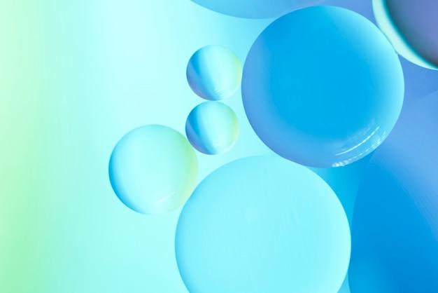 Résumé des bulles d'huile Photo gratuit