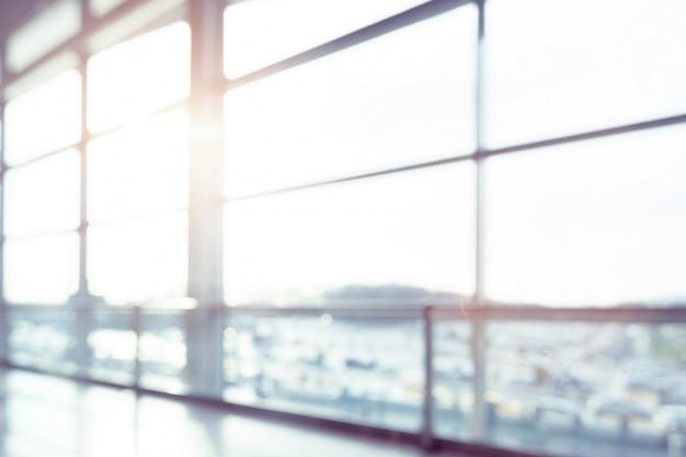 Résumé Flou à L'aéroport Pour Photo Premium