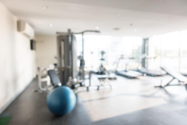 Résumé flou gym et fitness Photo gratuit
