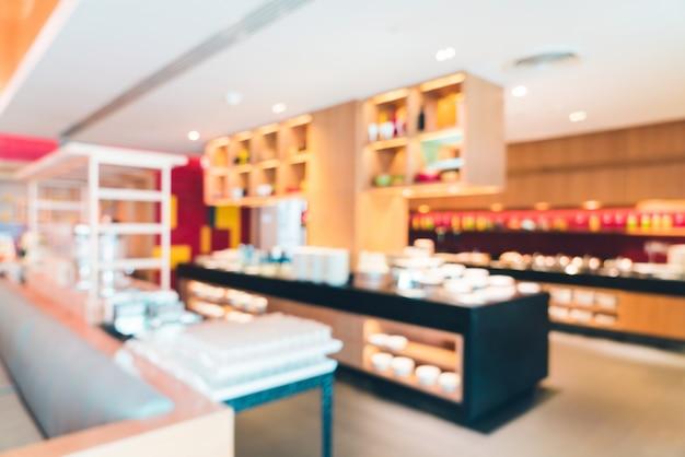 Résumé flou restaurant Photo gratuit