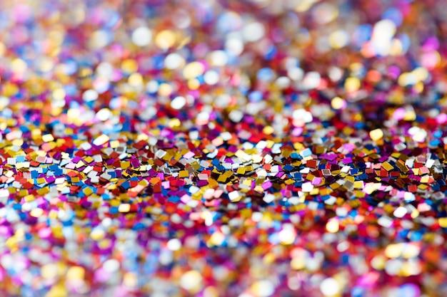 Résumé de fond texturé de paillettes colorées Photo gratuit