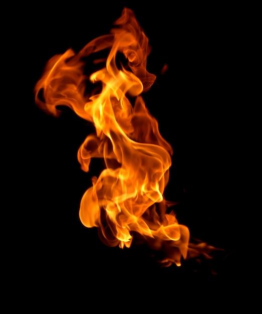 Résumé Historique De Feu De Chaleur Flamme Photo Premium