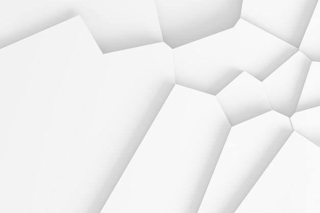 Résumé historique des lignes droites disséquer la surface en illustration 3d de pièces séparées Photo Premium