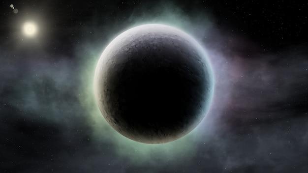 Résumé historique scientifique de la scène de l'univers dans l'espace Photo Premium