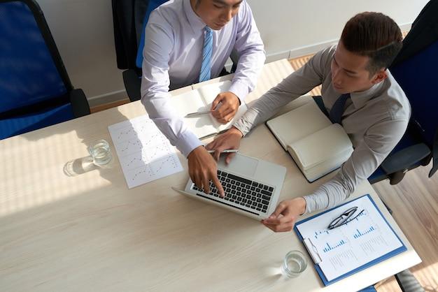 Réunion de dirigeants d'entreprise Photo gratuit