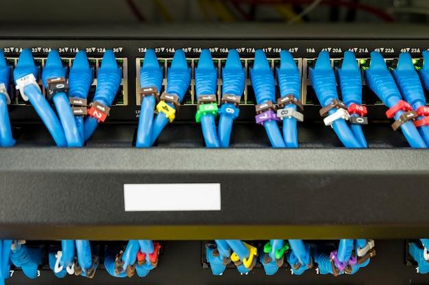 Rj 45 lan cable Photo Premium