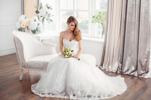 Robe De Mariée Photo Premium