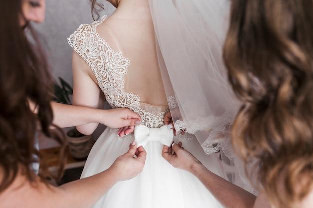 Robe de mariée Photo gratuit