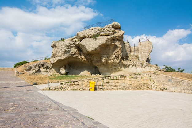 Rocca Di Cerere à Enna Sicile, Italie. Photo Premium