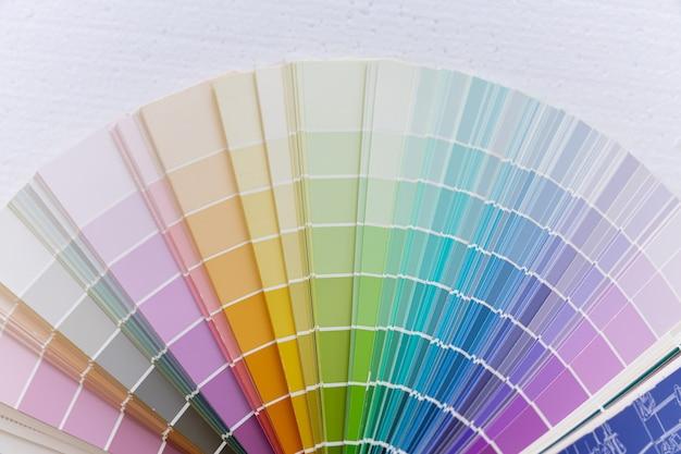 Roue de la palette de couleurs du guide Photo Premium