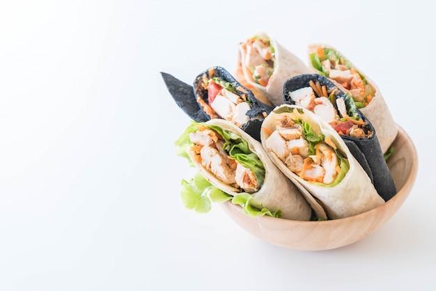 Rouleau De Salade Photo gratuit