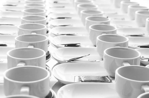 Rouleau de tasse de café pour le séminaire Photo Premium