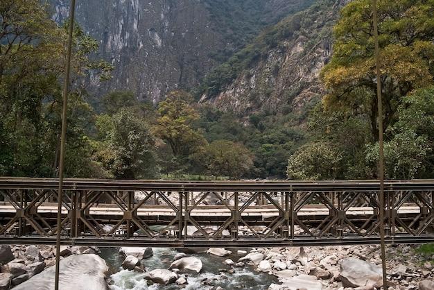 Route des montagnes pérou Photo Premium