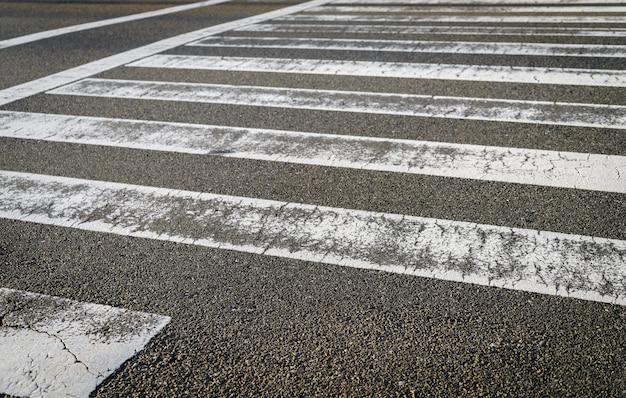 Route de passage zebra Photo gratuit