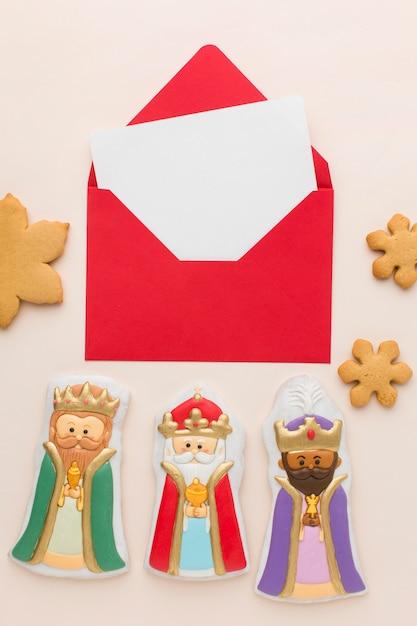 Royalty Biscuit Figurines Comestibles à Plat Photo gratuit