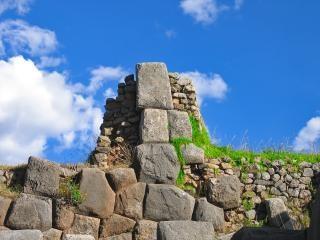 Ruines incas péruviens Photo gratuit