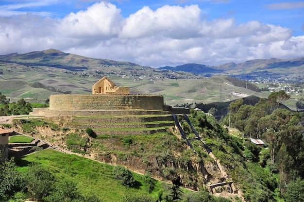 Ruines d'ingapirca, cuenca, equateur Photo Premium