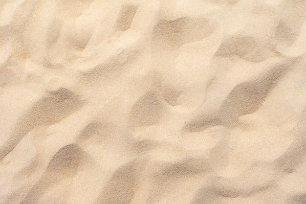 Sable fin de plage au soleil d'été Photo Premium