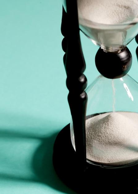Sablier Mesurant Le Temps Photo gratuit