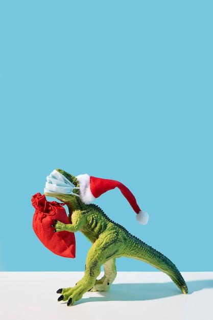 Sac De Rangement Pour Jouet Dinosaure Photo gratuit