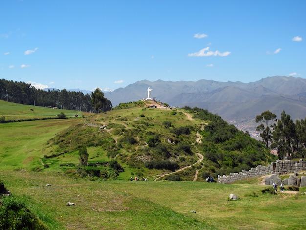 Sacsayhuaman, Ruines De La Forteresse De Cusco, Empire Inca, Pérou Photo Premium