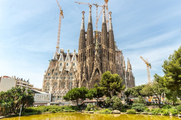Sagrada familia barcelona Photo Premium