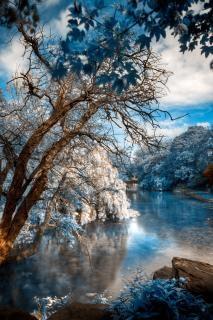 Saint stephen s bleu hdr Photo gratuit