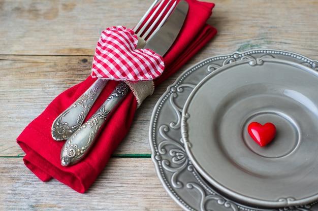 Saint Valentin Dans Un Style Vintage Photo Premium