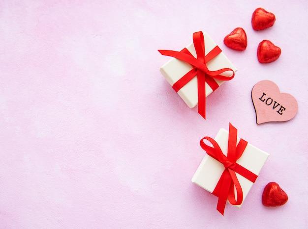 Saint valentin romantique Photo Premium