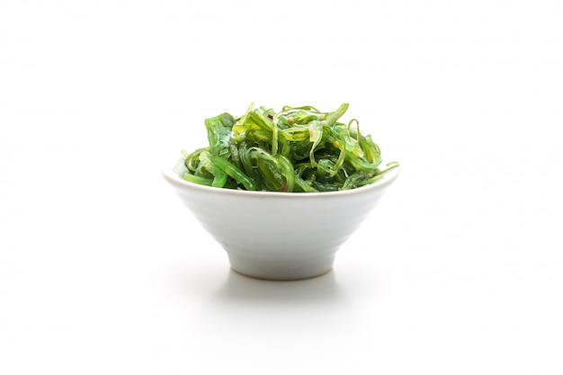 Salade d'algues - style japonais Photo Premium