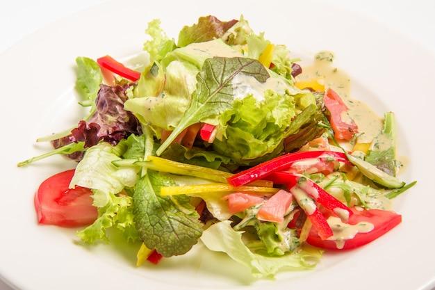 Salade Aux Légumes Verts Photo gratuit