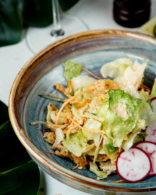 Salade De Fines Herbes Au Radis Photo gratuit
