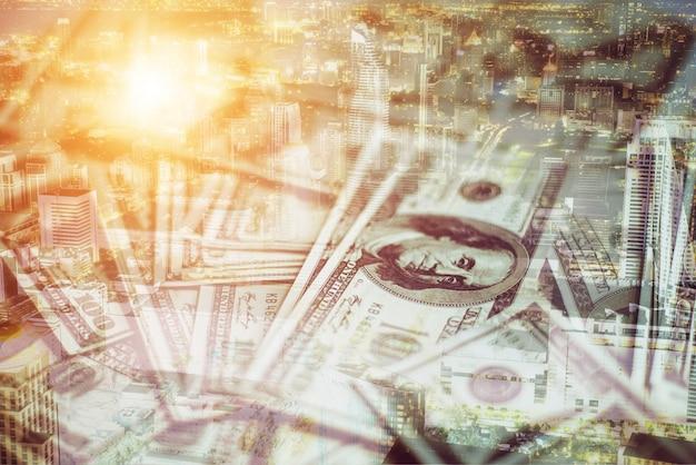 Les Salaires De La Dette Des Entreprises Ont Obtenu Usd Photo gratuit