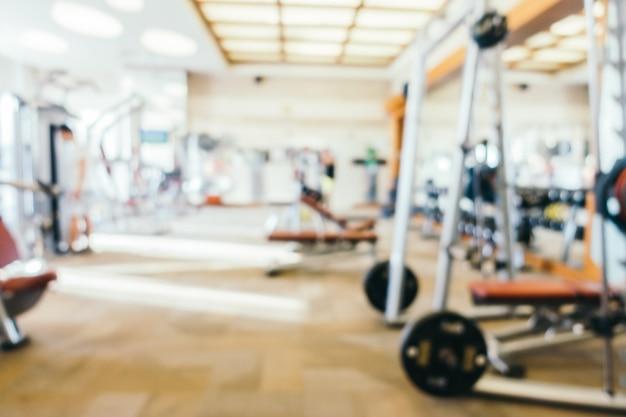 Salle de gym flou abstrait Photo gratuit