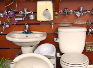 Salles de bains différents Photo gratuit