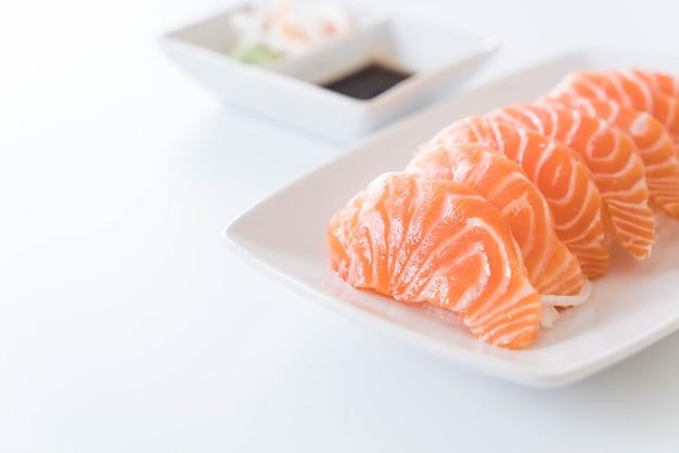 Salmon Raw Sashimi Photo gratuit