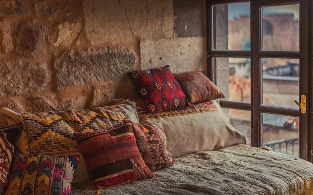 Salon turc traditionnel Photo Premium
