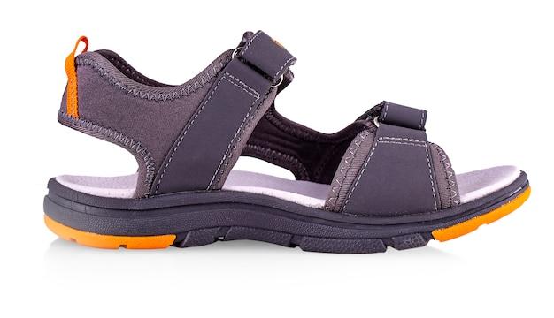 Sandales de sport d'été isolés sur fond blanc Photo Premium