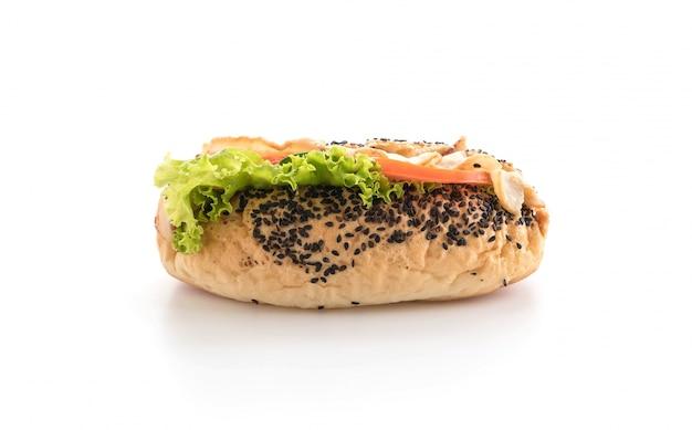Sandwich Au Bacon Et Aux Légumes Photo gratuit