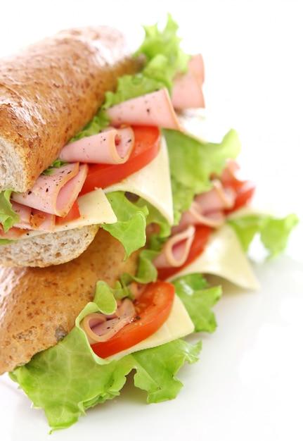 Sandwich Frais Et Savoureux Photo gratuit