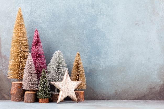 Sapin De Noël Coloré Photo Premium