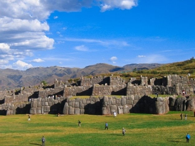 Saqsaywaman ruines Photo gratuit