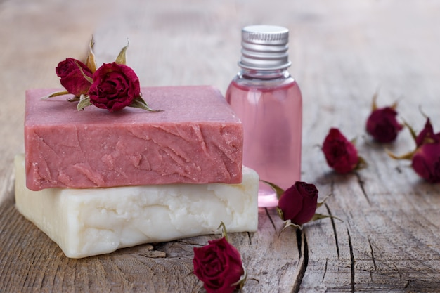 Savon artisanal naturel Photo Premium